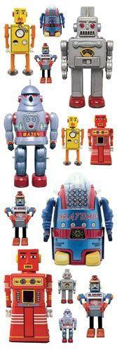 Glitter Ru ons Robots
