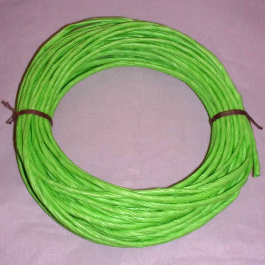 Paper Twist Lime Green
