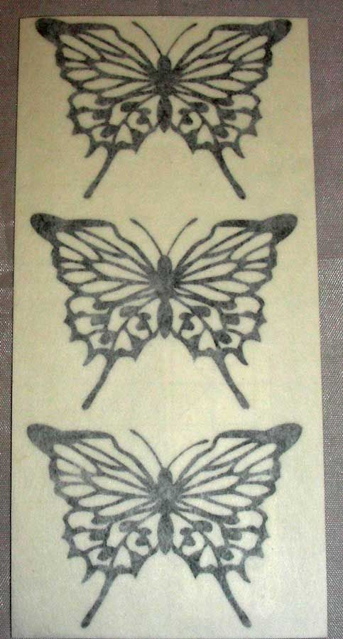Vinyl Small Butterfly