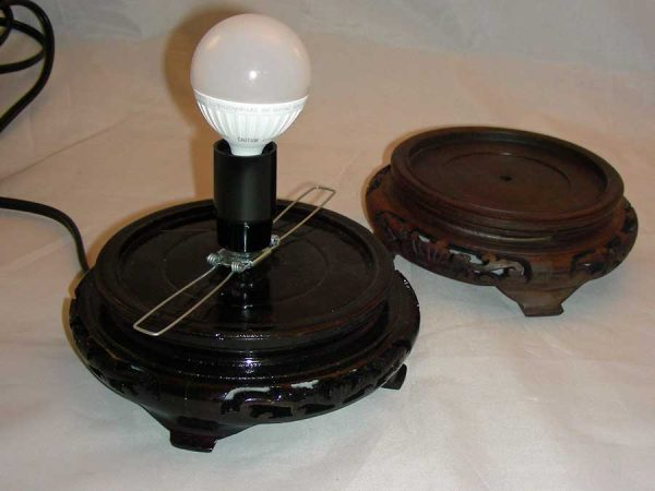 gourd lamp base 2