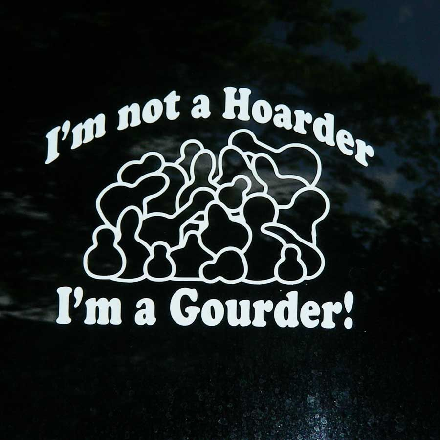 Car Decal - I'm Not a Hoarder