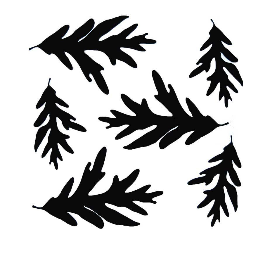 Vinyl Oak Leaves