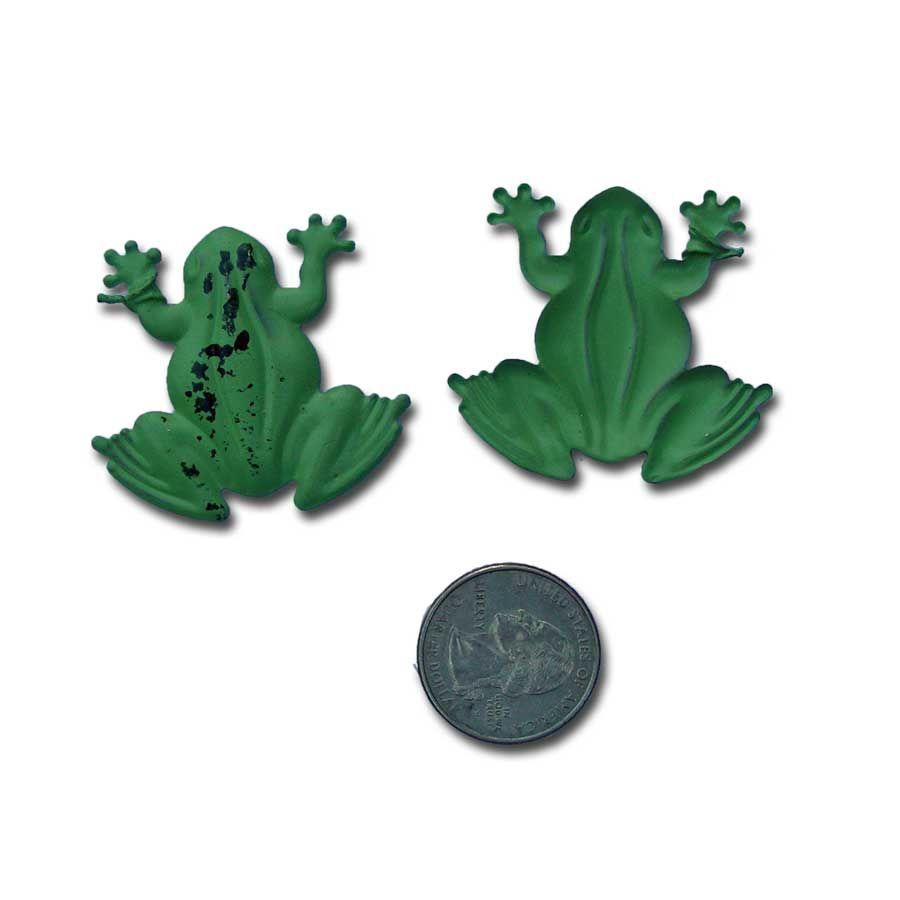 Rustic Frog Green