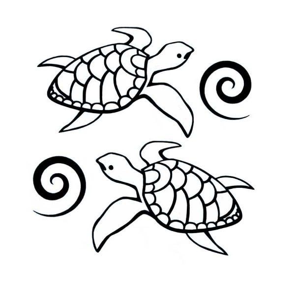 Vinyl Sea Turtles