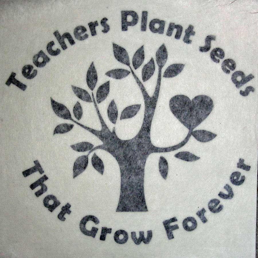 Teachers plant seeds