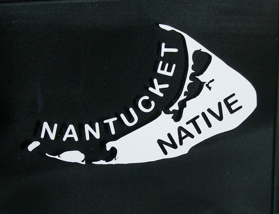 Car Decal NAntucket Native