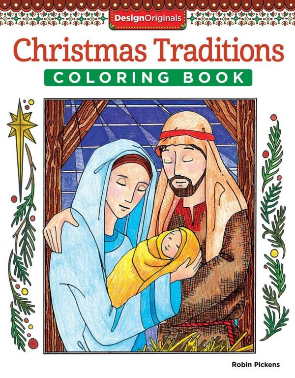 Christmas Traditions Coloring