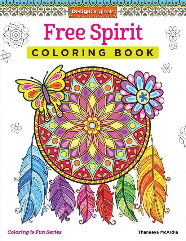 Creative Coloring Free Spirit