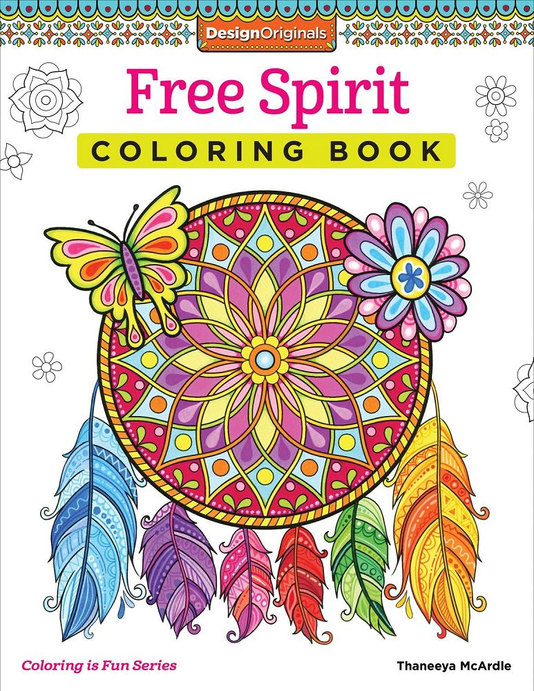 Creative Coloring Free Spirit