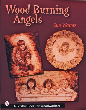 Wood Burning Angels  by Sue Waters