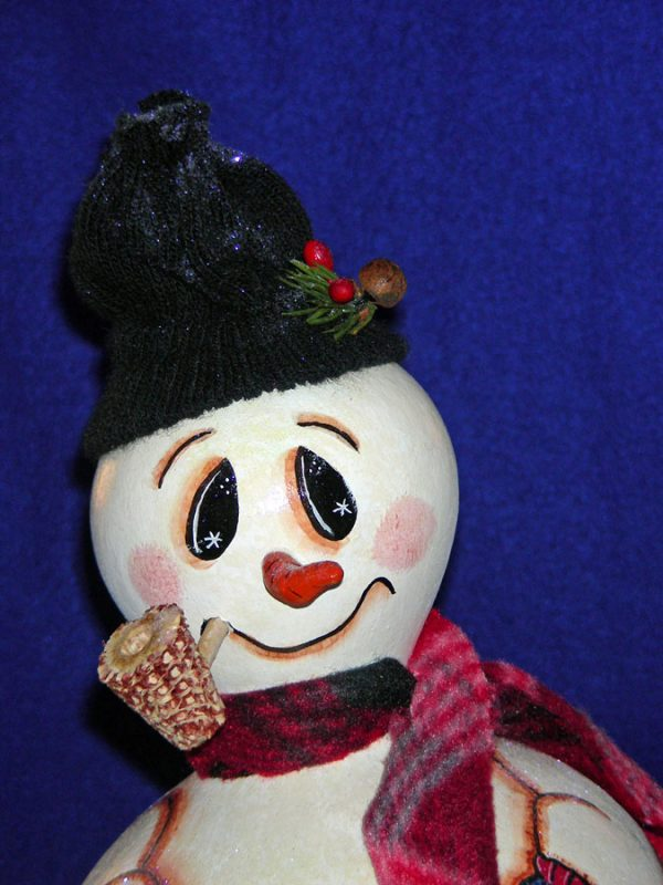 Knit Hat Doll, snowman, bear