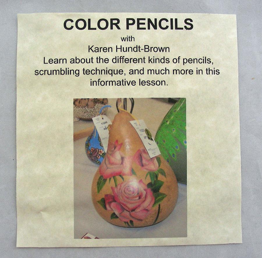 Color Pencils DVD Karen Hundt-Brown