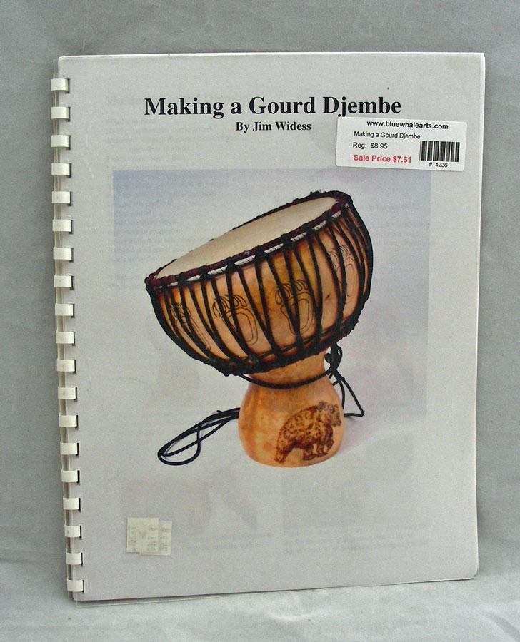 Making a Gourd Djembe