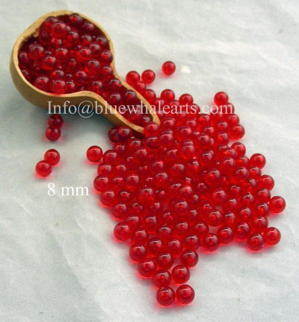 Gourd LIght Beads from Turkey