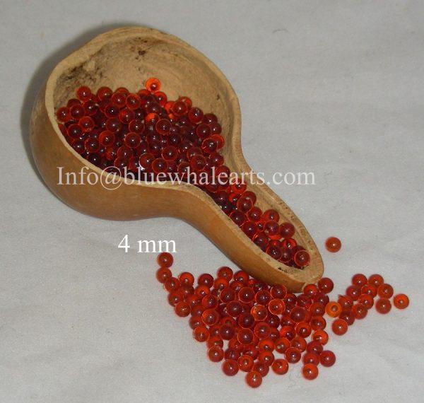 Gourd Light Beads Turkish, brown 4 mm