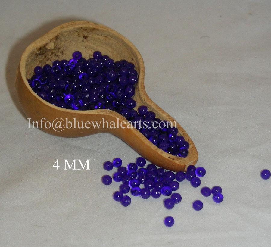Gourd Light Beads from turkey Dark Blue 4mm Turkish Gourd beads