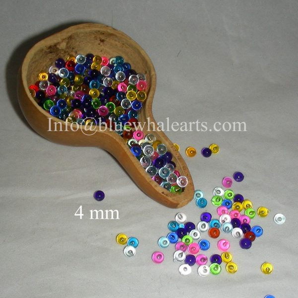 Gourd light beads from turkey mixed 4mm turkish beads