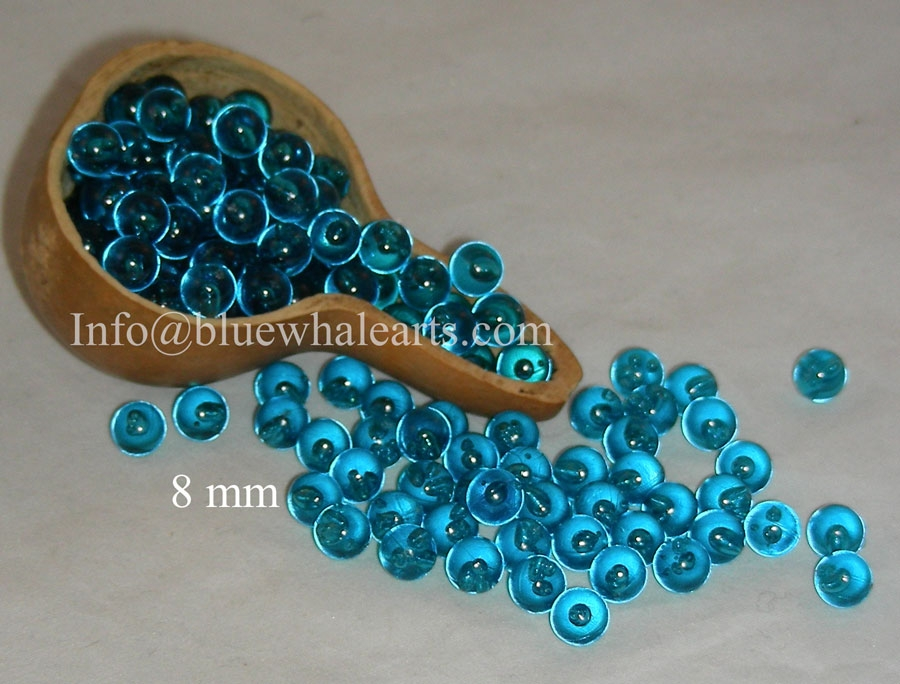 Gourd Light Beads from turkey teal turkish bead