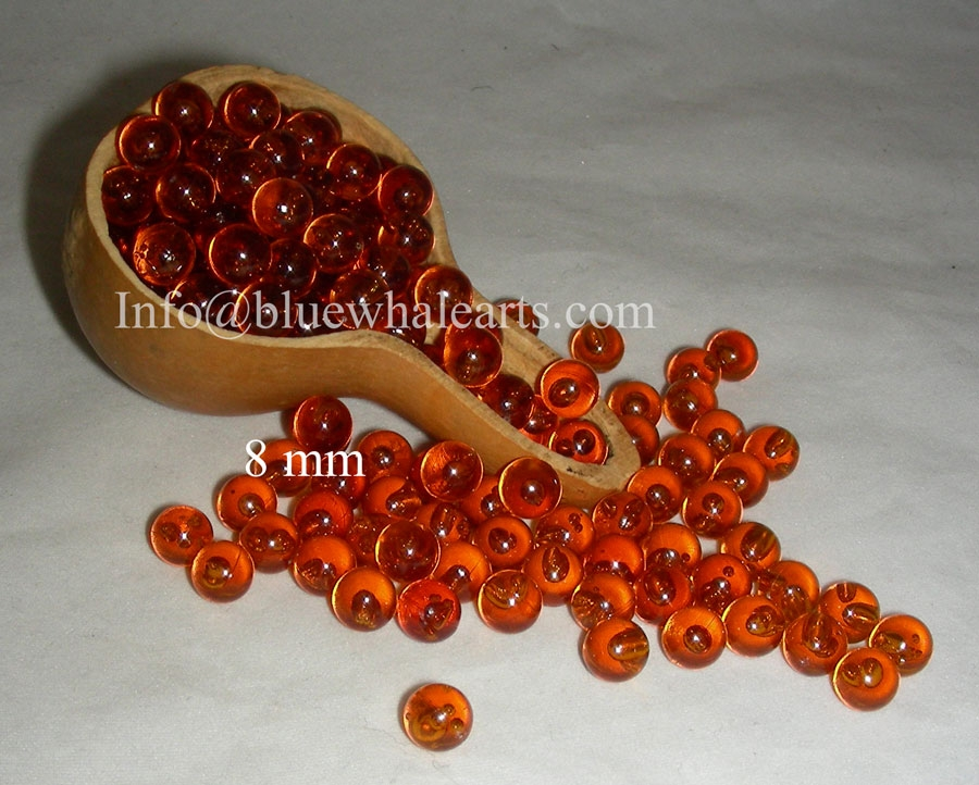Gourd light beads turkey, turkish brown 8 mm