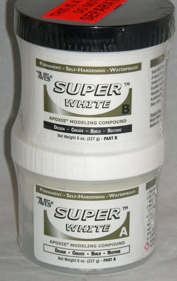 Aves Super White Apoxie 1 lb
