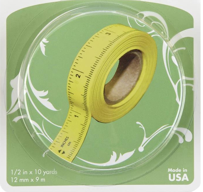 Peel n Stick Ruler Tape