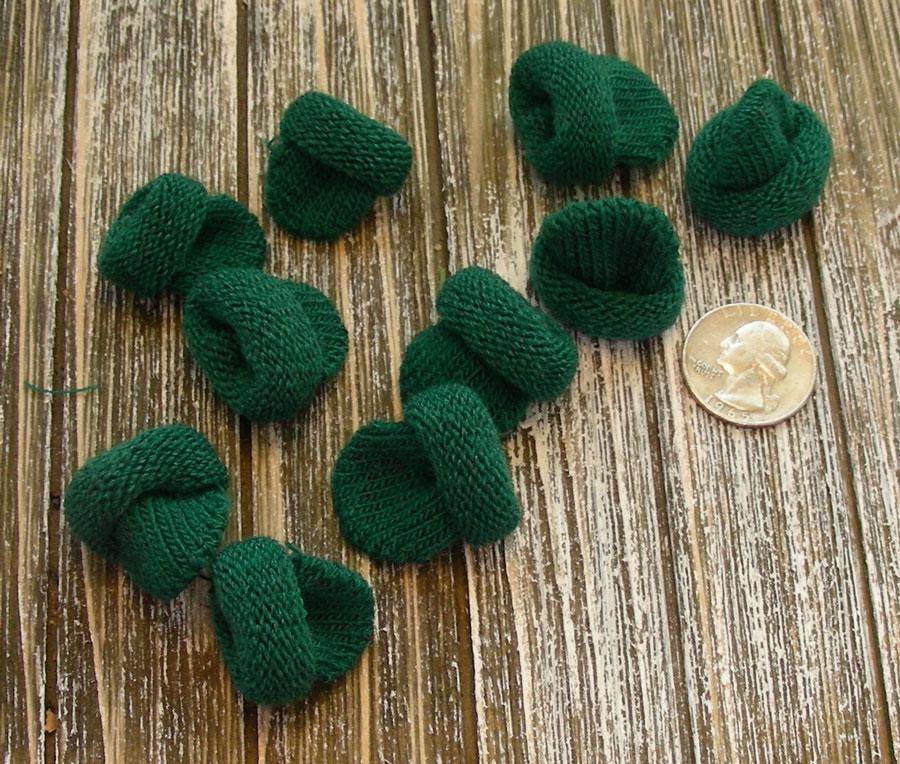 Mini Knit Hat - Green
