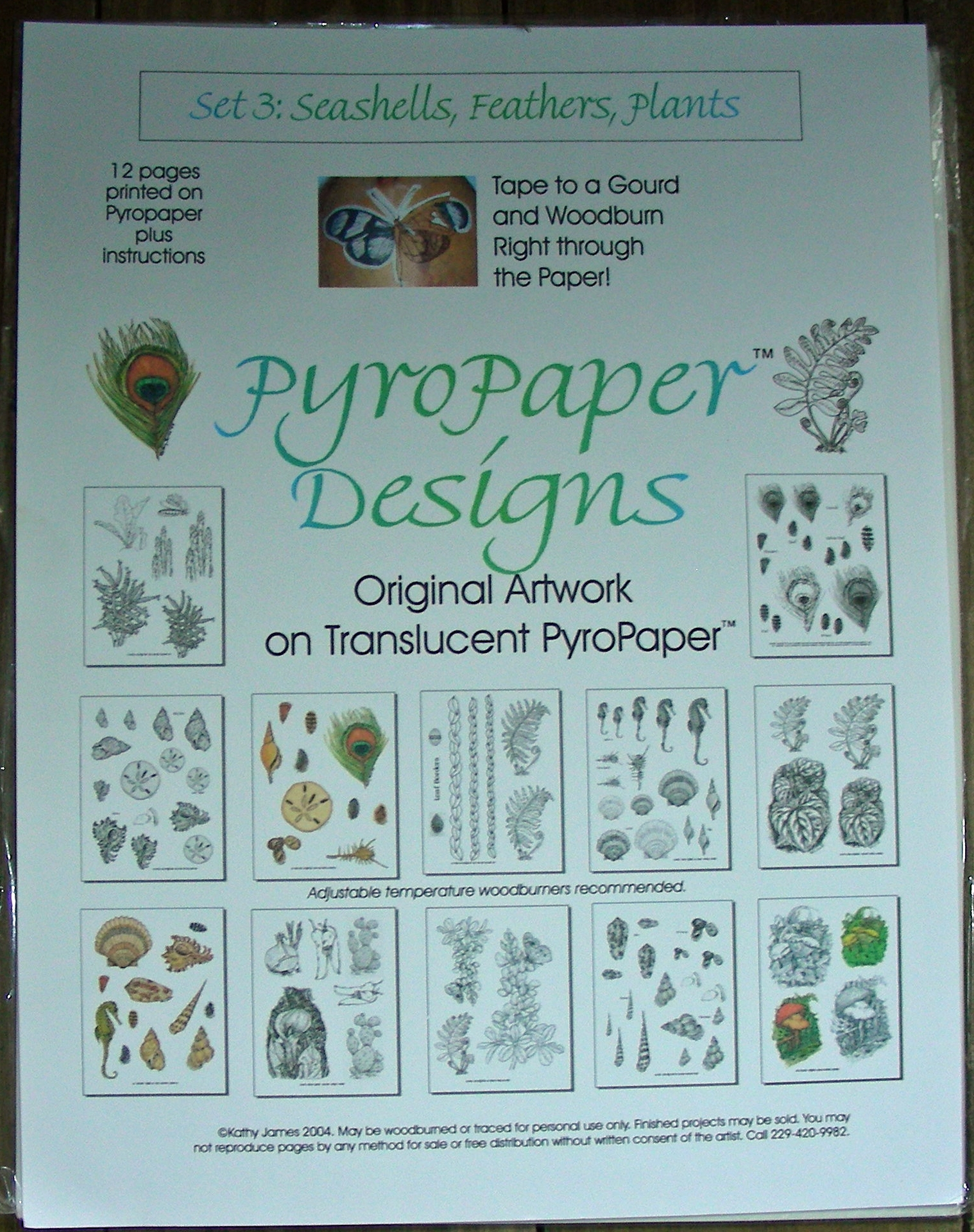 PyroPaper Design Set 3