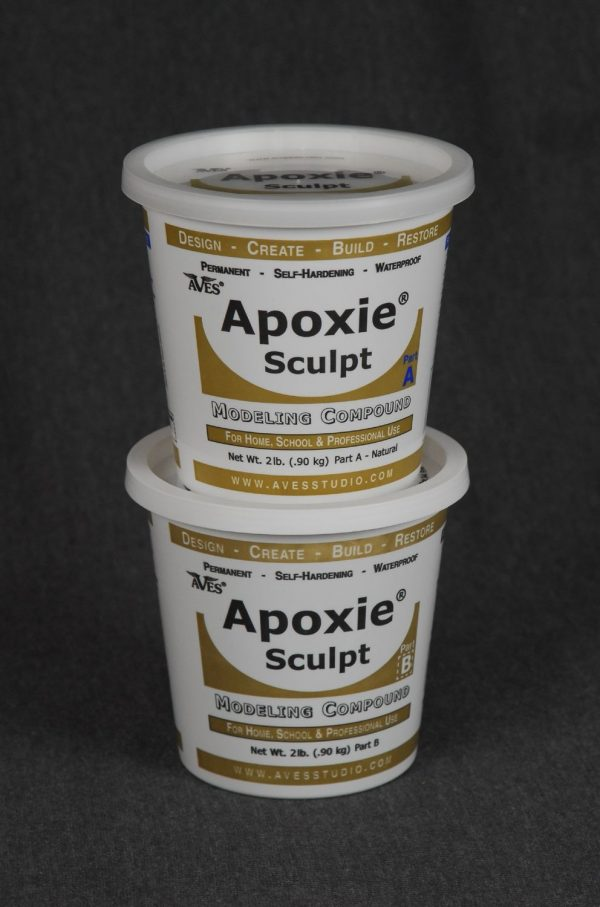 Apoxie Sculpt Black 4 lb