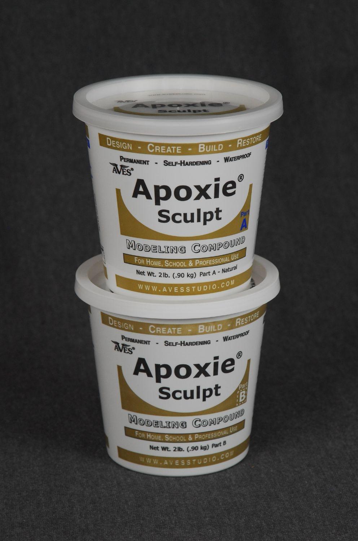 Apoxie Sculpt Black 4 lb