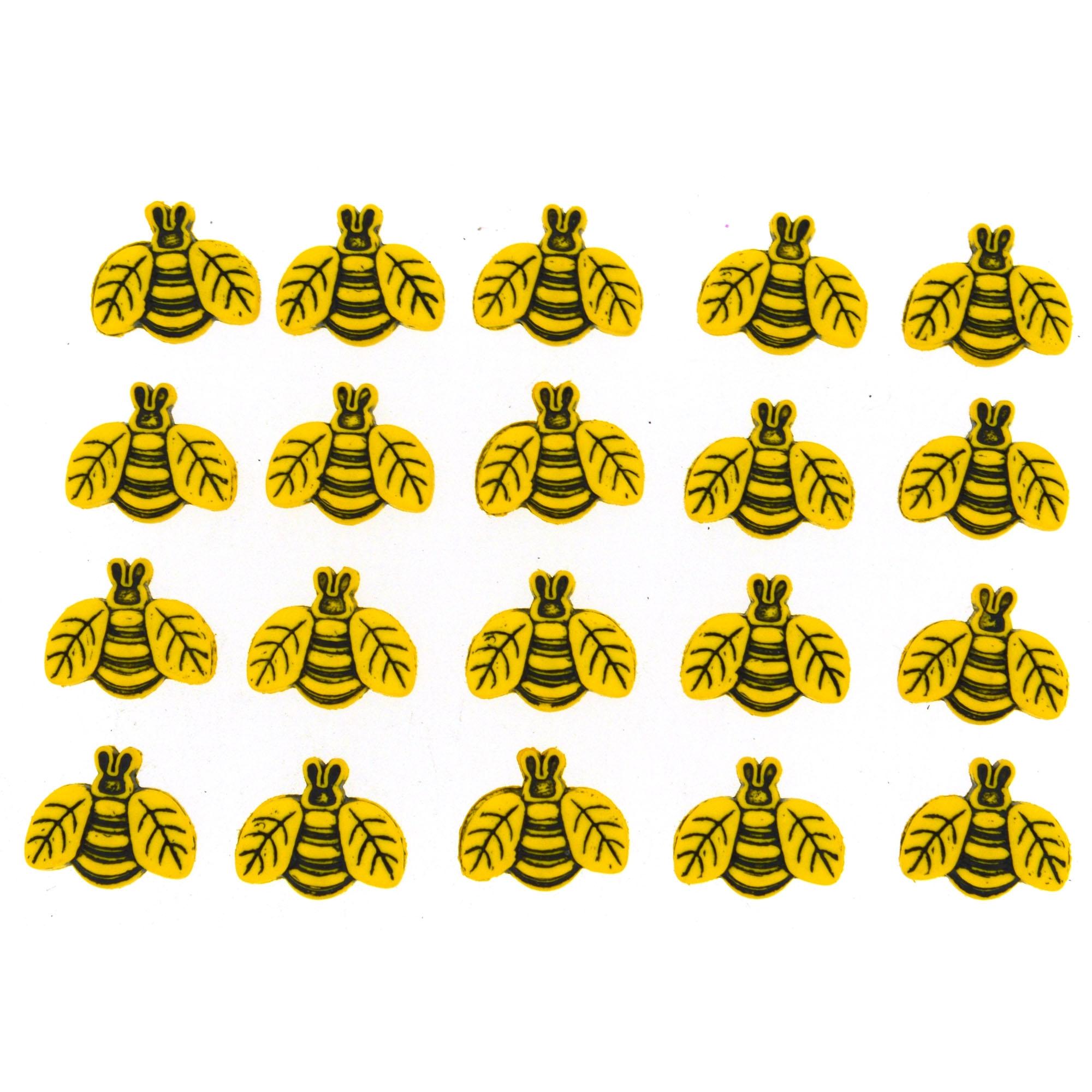 Button Fun 1858 - bumble bees