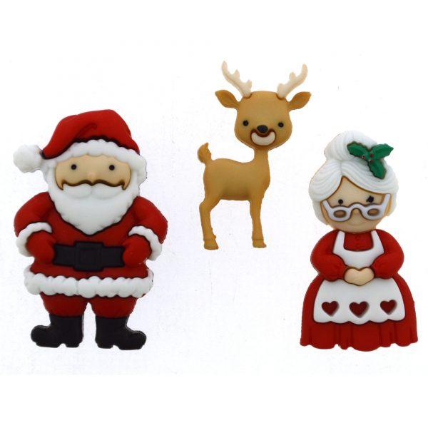 Dress it up - Mr & Mrs. Claus
