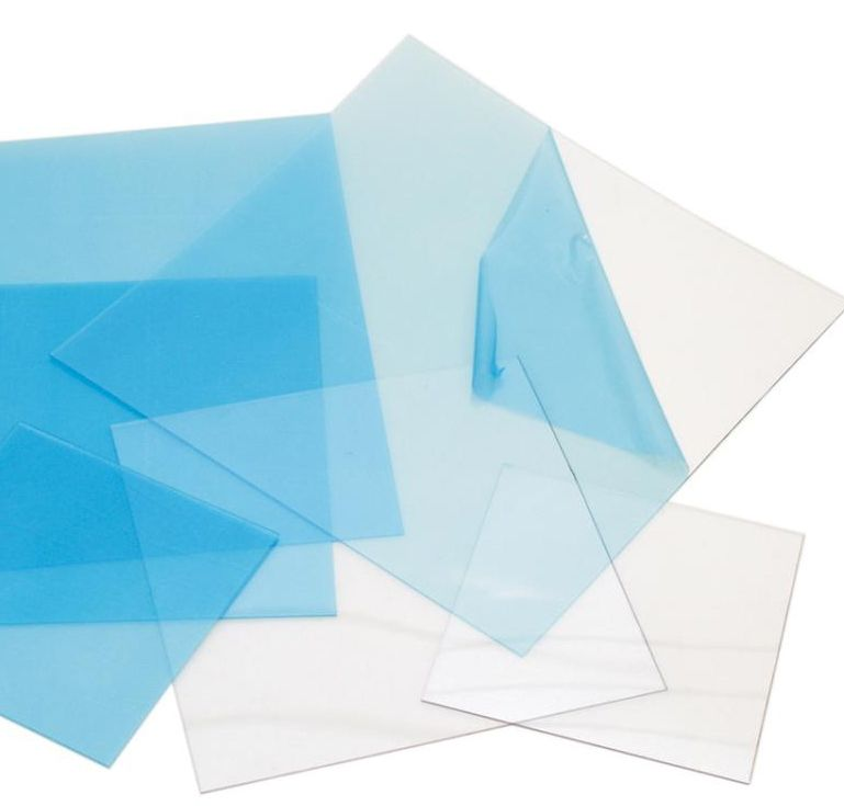 """Grafix-Craft Plastic 12"""" x 6""""  Thickness .020 - Clear"""