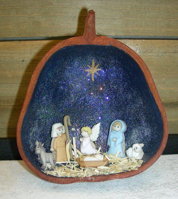 Nativity Holiday Ornament