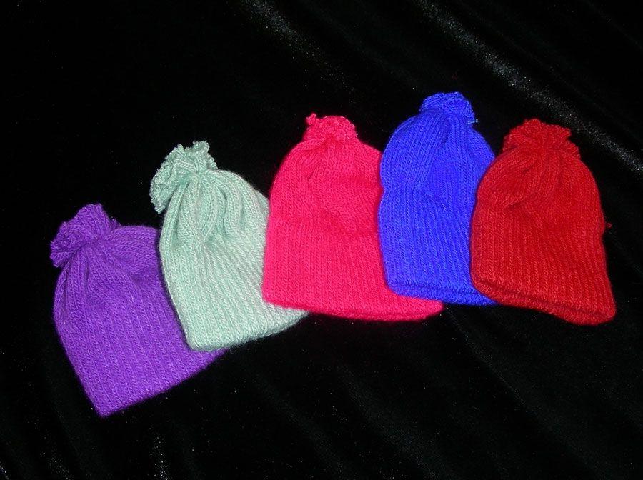Knit Hat Doll hats