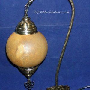 Swan Neck Gourd Lamp