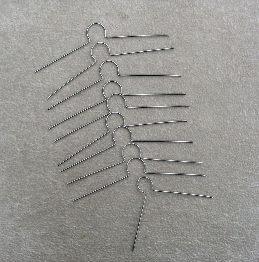 Ornament cap wire loop