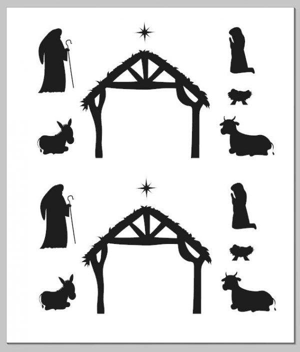 Nativity scene vinyl
