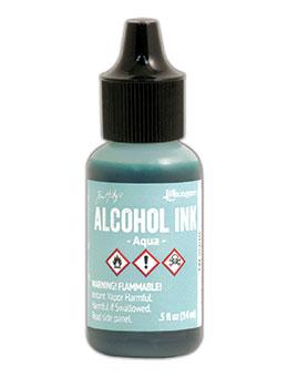 Tim Holtz Alcohol Ink Aqua
