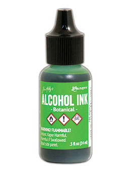 Tim Holtz Alcohol Ink Botanical