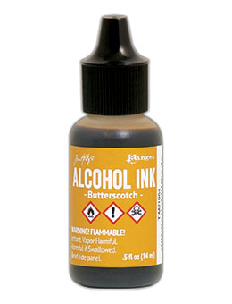 Tim Holtz Alcohol Ink Butterscotch