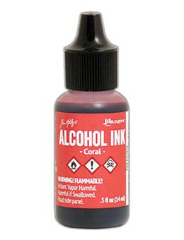 Tim Holtz Alcohol Ink Coral