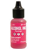 Tim Holtz Alcohol Ink Flamingo
