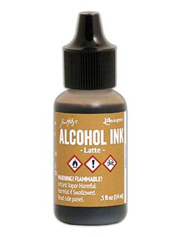 Tim Holtz Alcohol Ink Latte