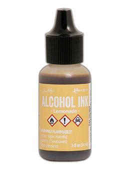 Tim Holtz Alcohol Ink Lemonade