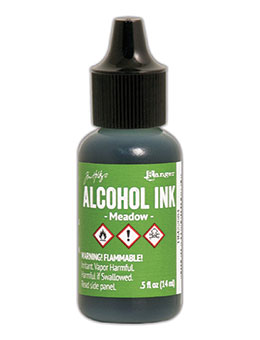 Tim Holtz Alcohol Ink Meadow
