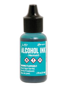 Tim Holtz Alcohol Ink Mermaid