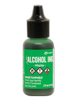 Tim Holtz Alcohol Ink Mojito