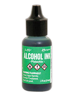 Tim Holtz Alcohol Ink Pastichio
