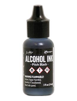 Tim Holtz Alcohol Ink Pitch Black