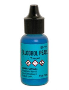 Tim Holtz Alcohol Pearl Tranquil